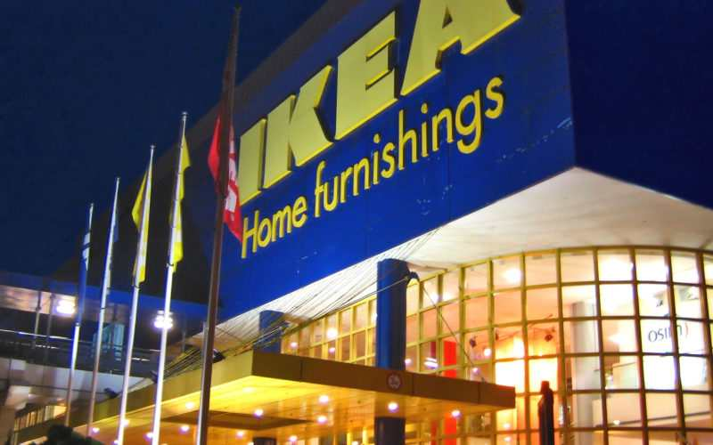 Un magasin Ikea